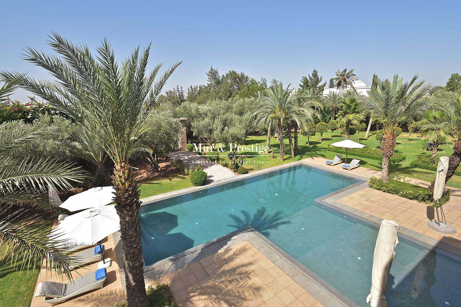 Vente d'une villa contemporaine a Marrakech