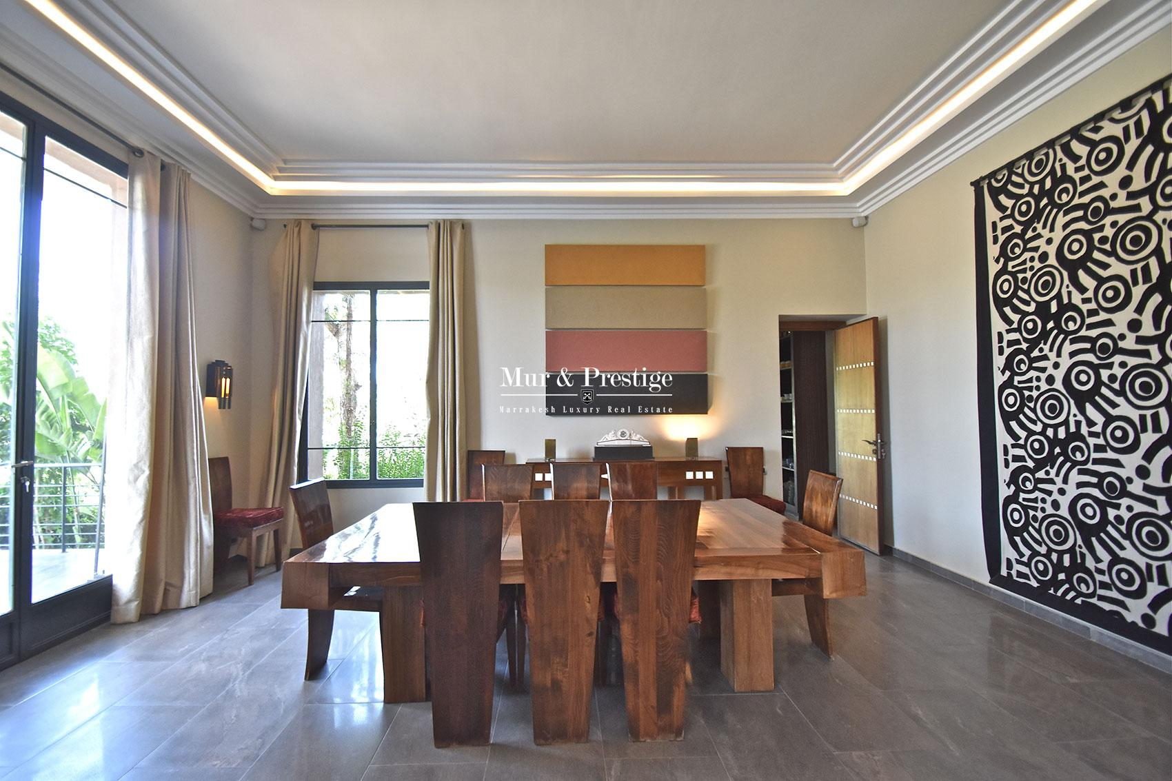 Vente d'une villa contemporaine a Marrakech