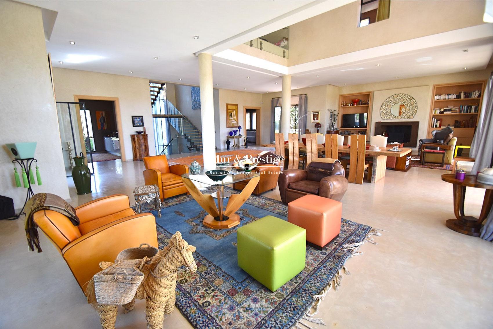 Vente d'une villa de charme a Marrakech