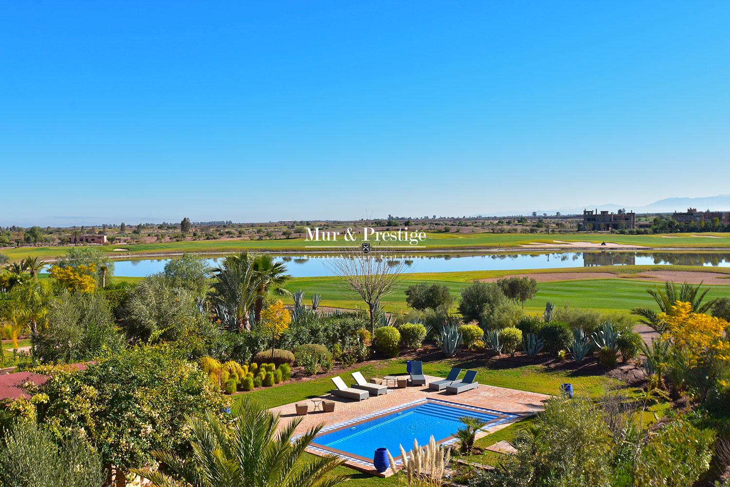 Vente villa en 1�re ligne de golf � Marrakech