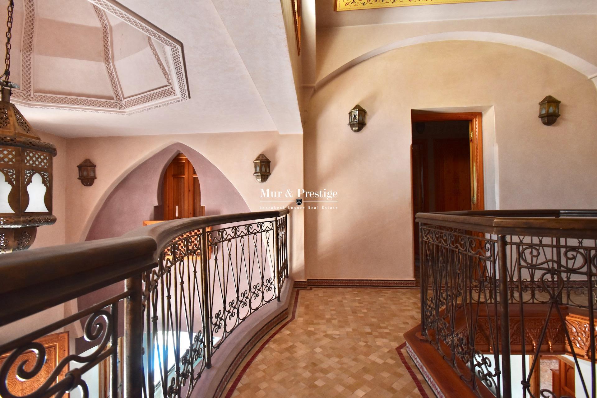 Maison à vendre au golf de Amelkis Marrakech à l 'architecture marocaine