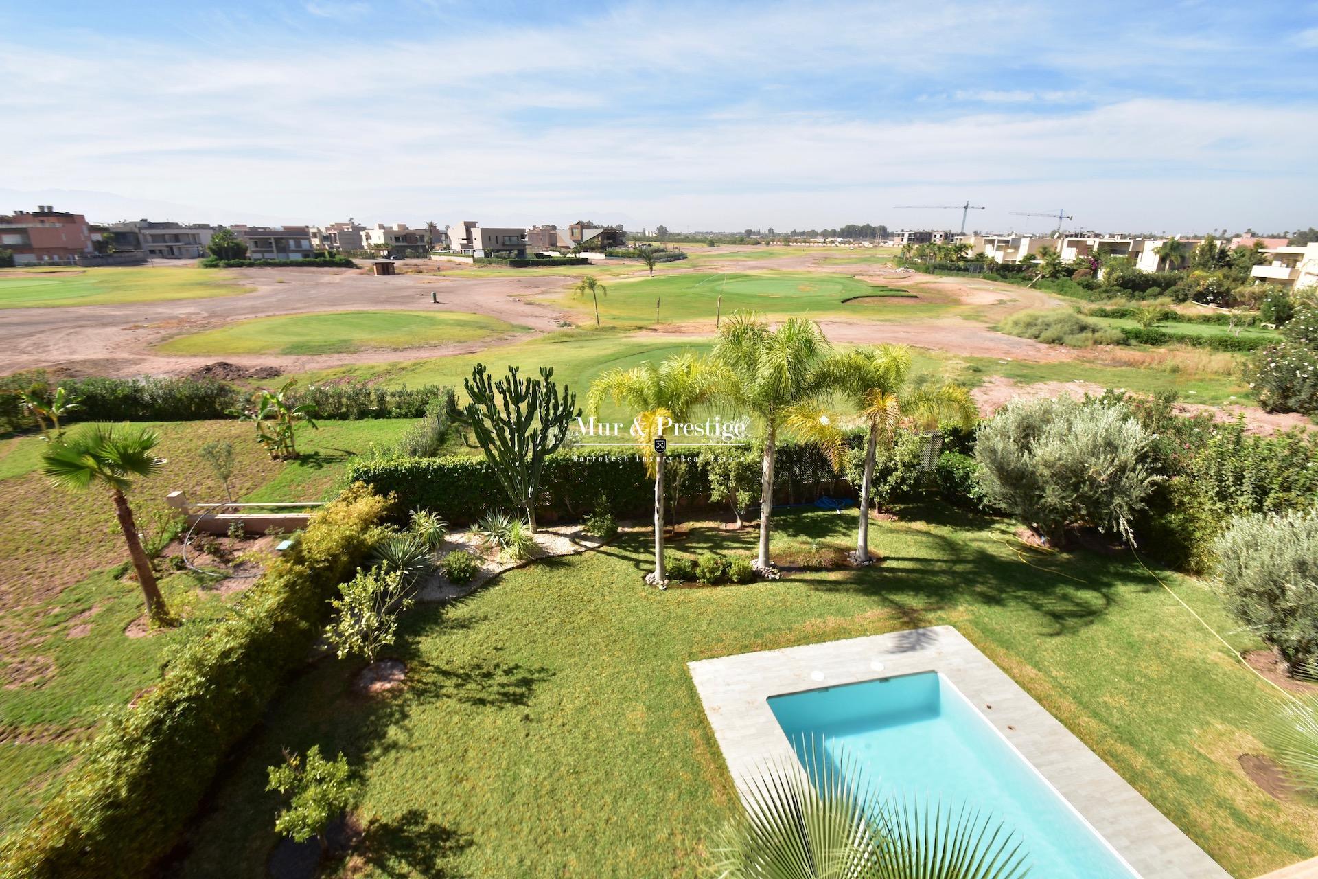 Maison à vendre en première ligne de golf  à Marrakech