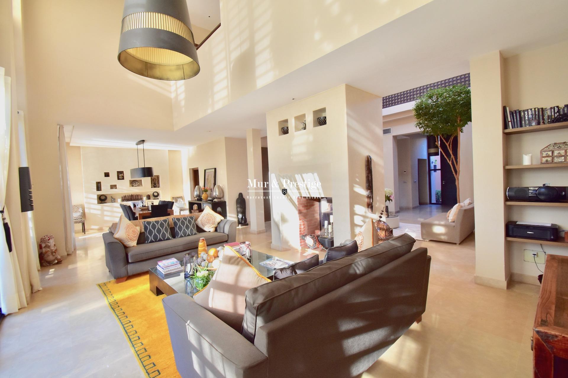 Agence immobilière Marrakech - Vente riad au golf de AL MAADEN –
