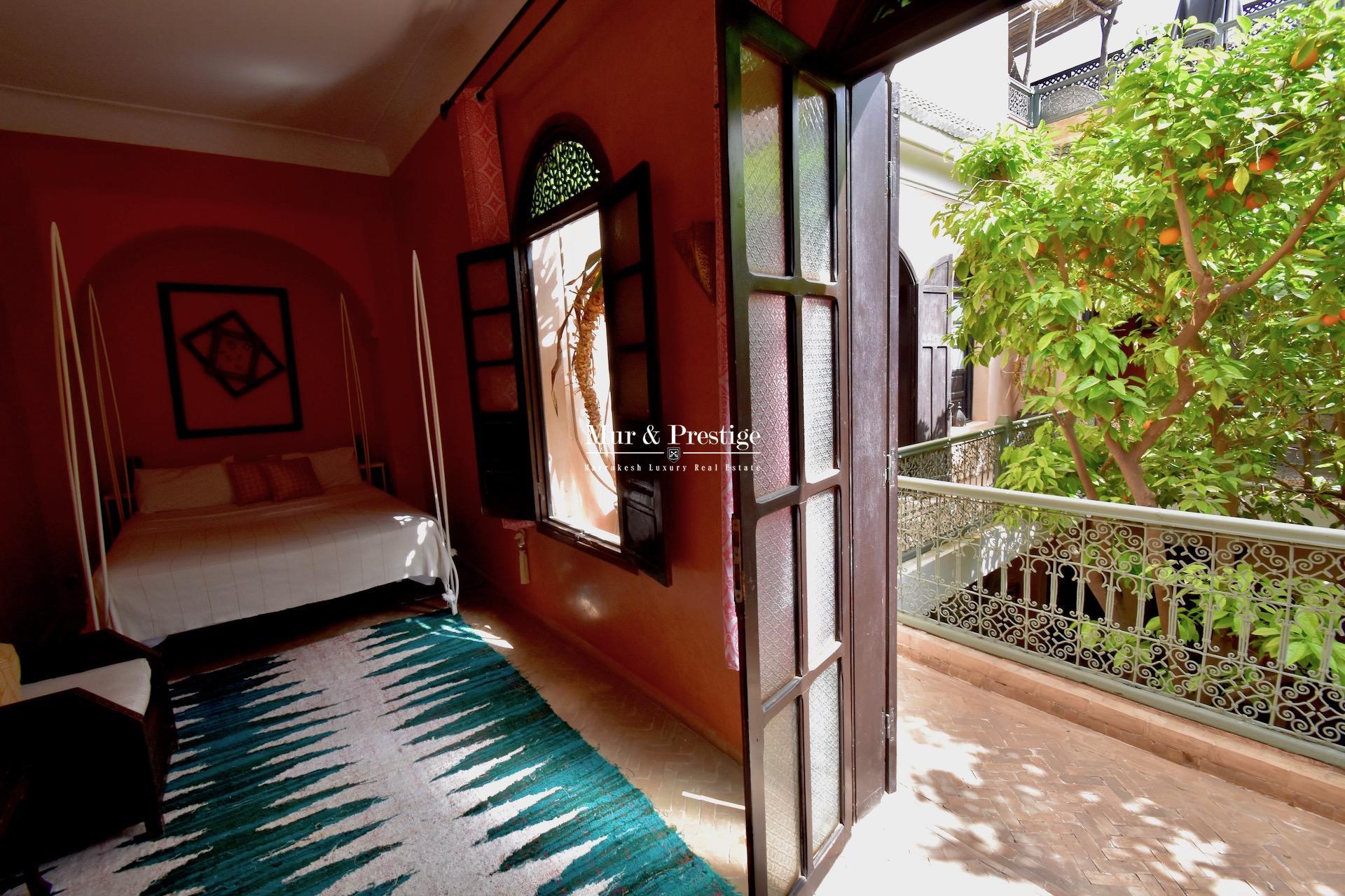 Vente Riad Médina de Marrakech - Agence Immobilière
