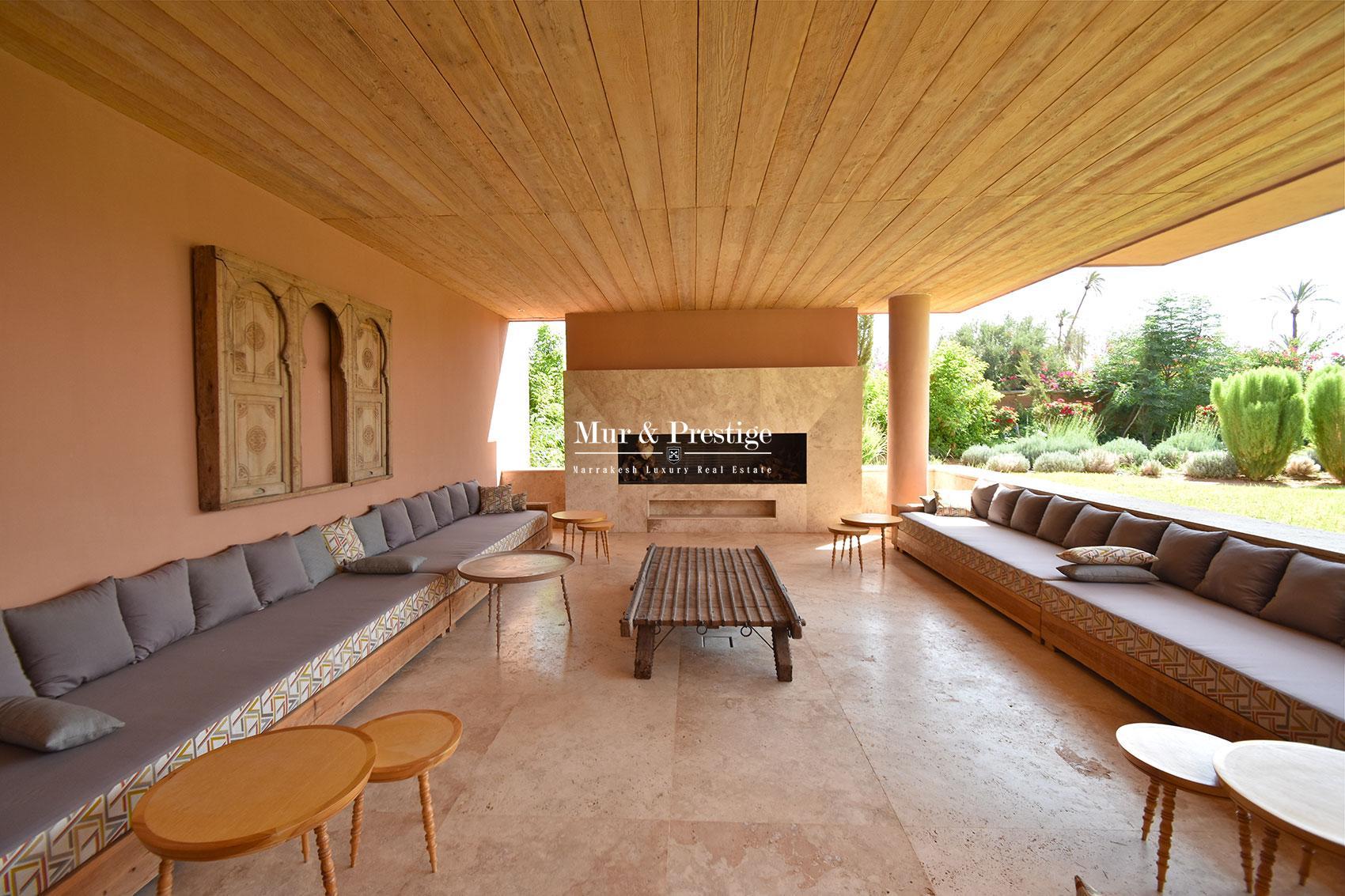Vente villa a Bab Atlas Marrakech