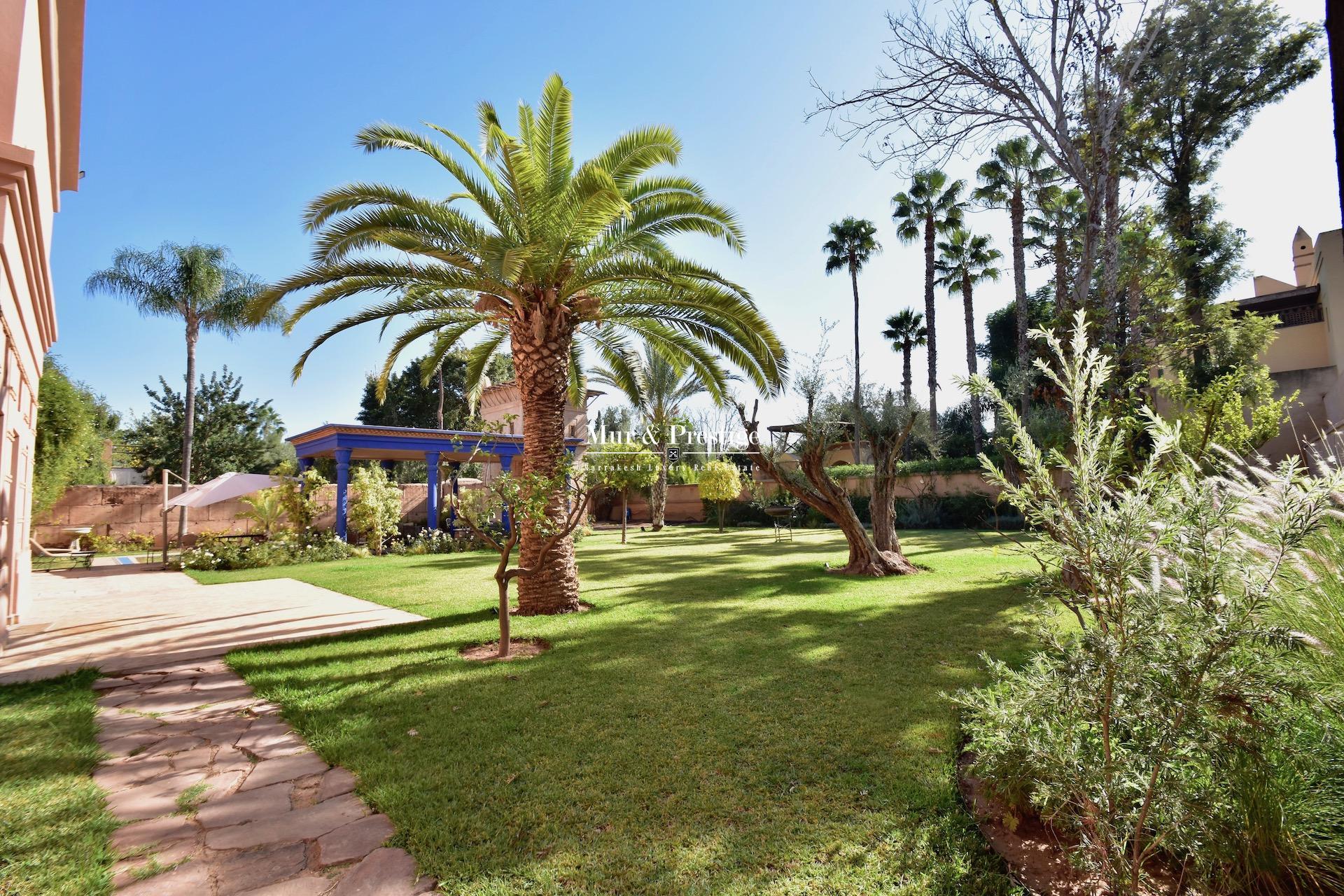 Maison de maître à vendre au golf Amelkis Marrakech