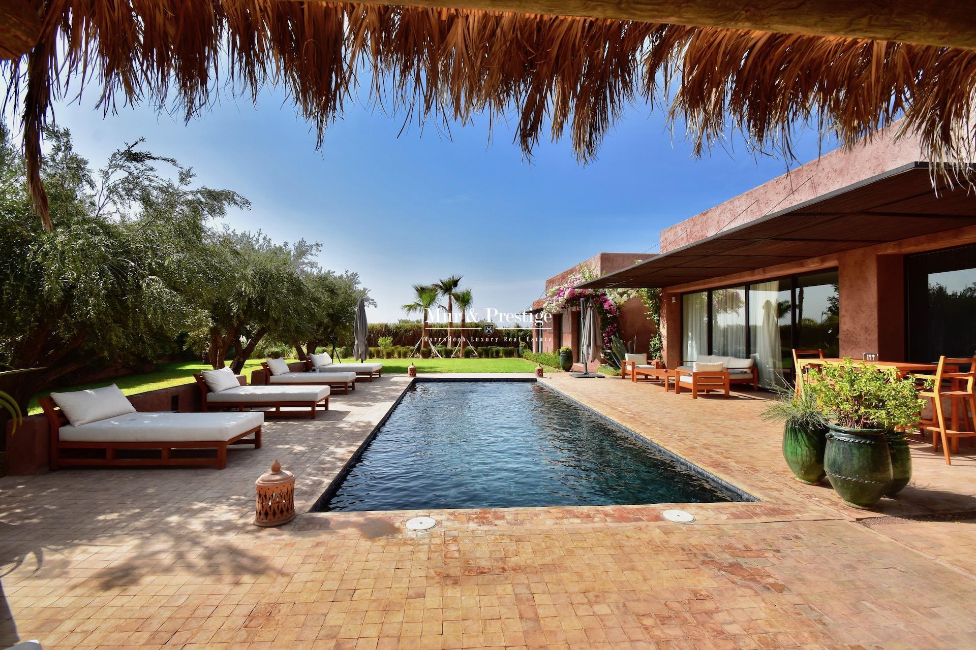 Villa à vendre au Fairmont Golf Royal Palm Marrakech
