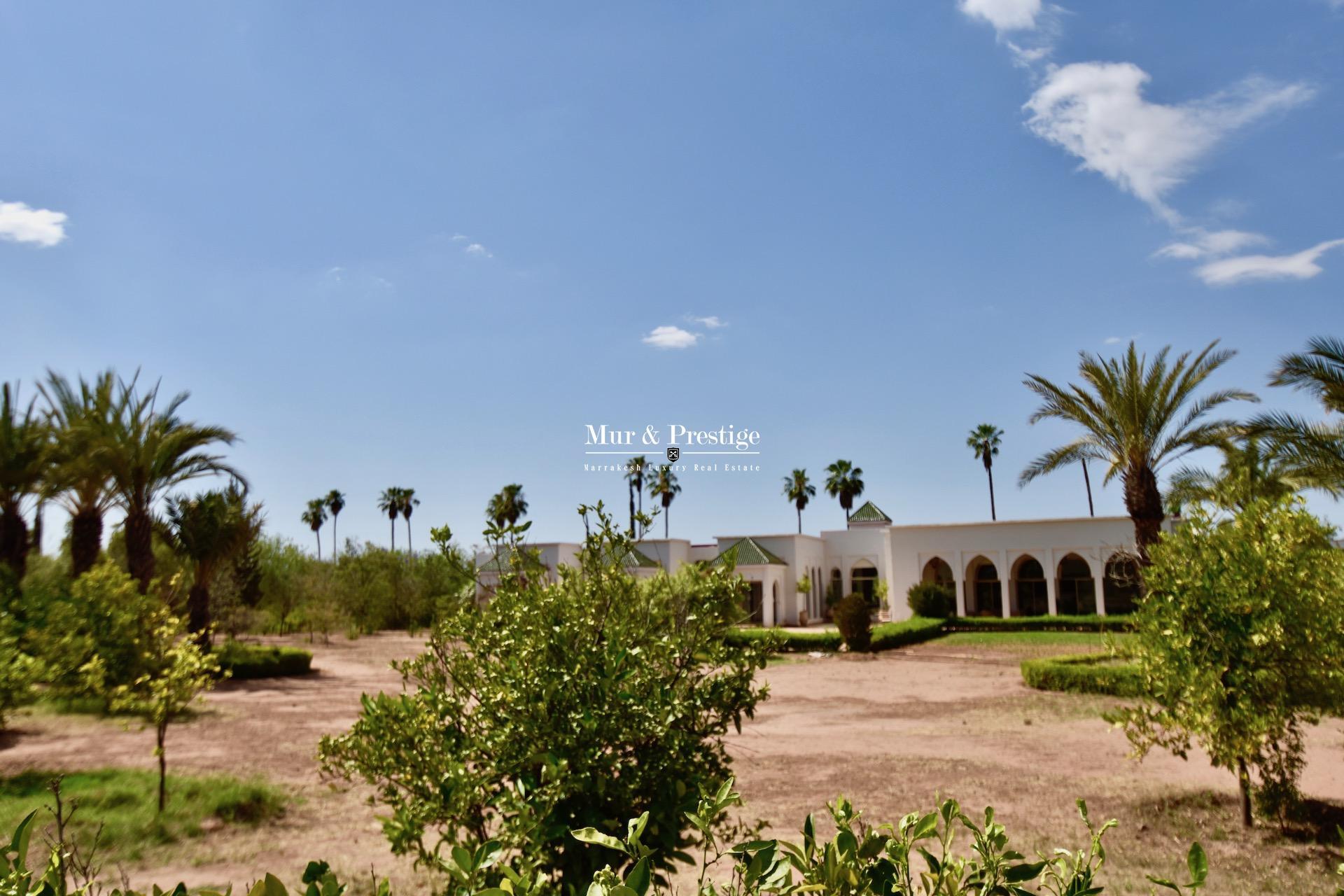 Maison de luxe à vendre à Marrakech