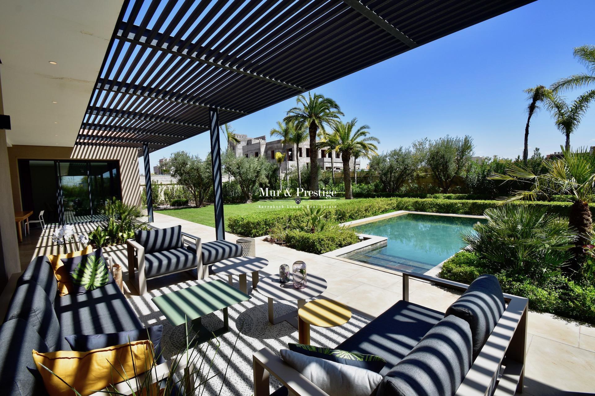 Luxueuse Villa Design à vendre au centre-ville de Marrakech