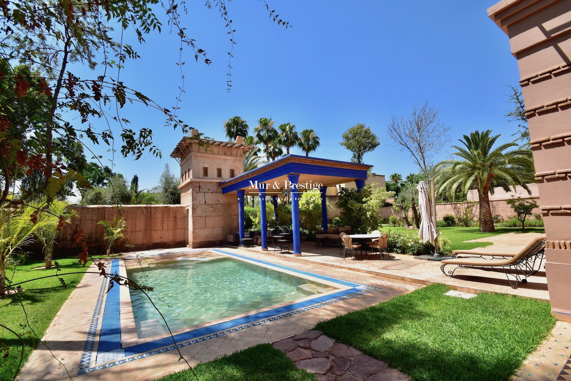 Maison de maître à vendre au golf Amelkis Marrakech - copie