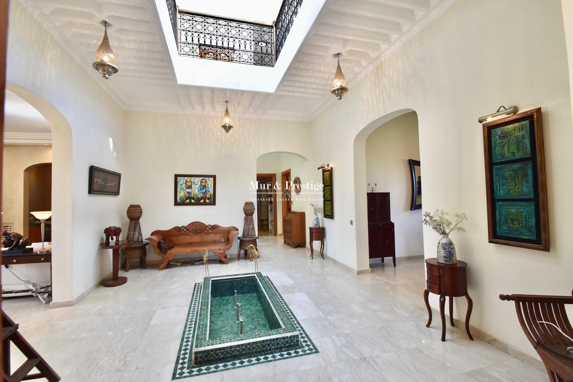 Villa en vente à Marrakech proche du Golf Amelkis