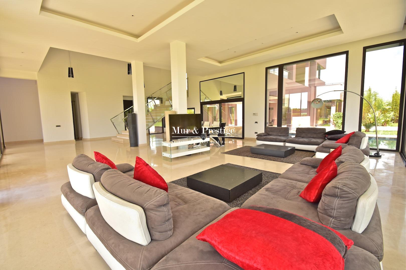 Villa en vente route de Fès Marrakech