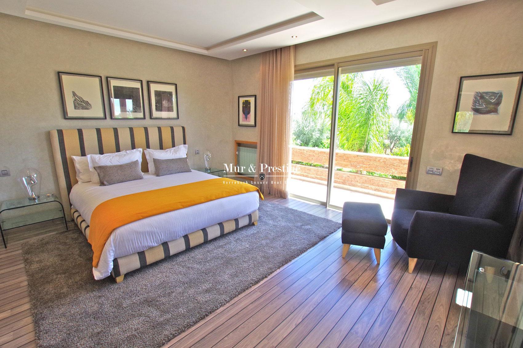 Villa a vendre dans la palmeraie a Marrakech