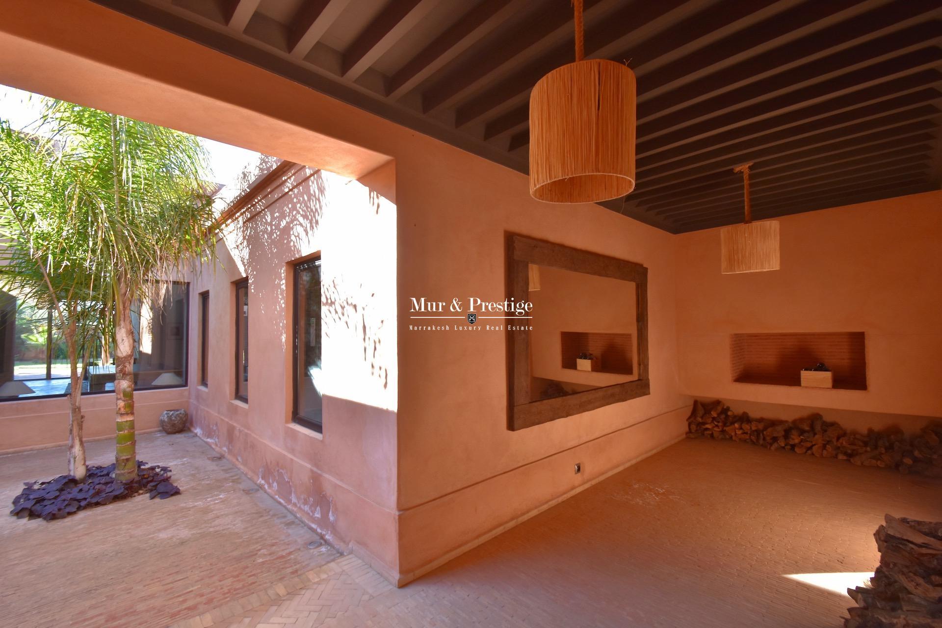 Maison coup de cœur à vendre à Marrakech