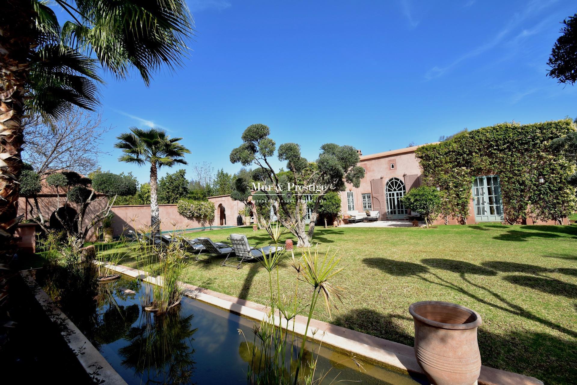 Villa Charles Boccara en vente à Marrakech