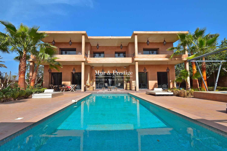 Villa contemporaine a vendre a Marrakech
