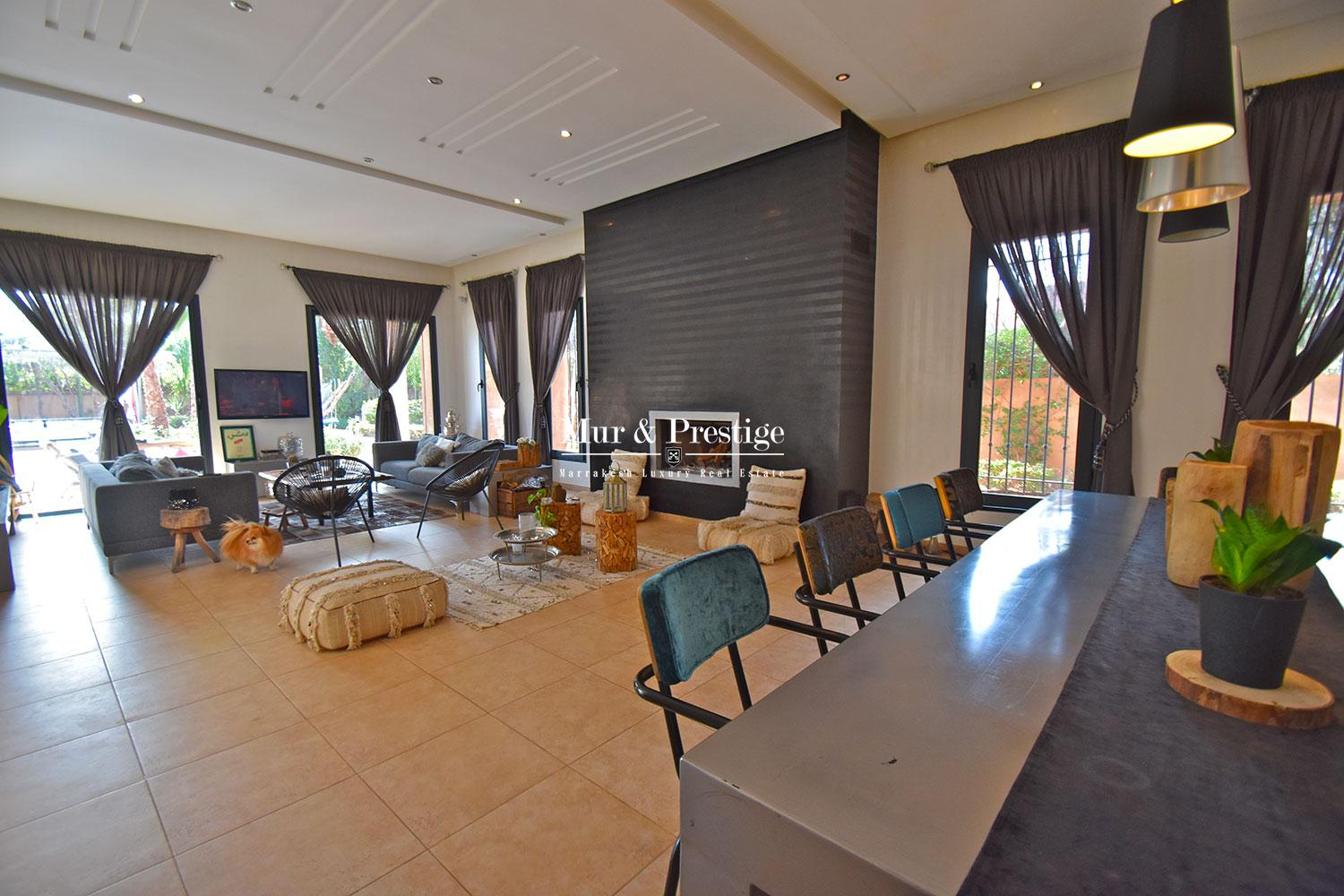 Villa contemporaine a vendre a Marrakech