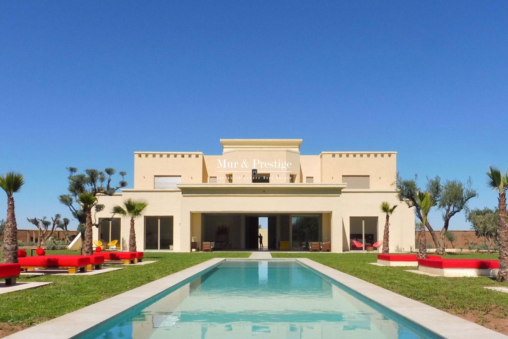 Villa contemporaine a vendre route de Ouarzazate