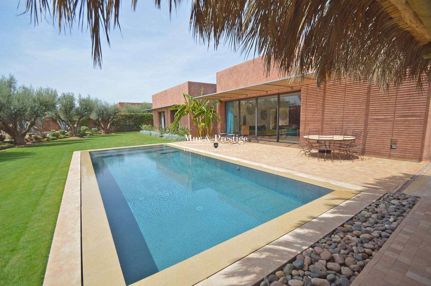 Villa contemporaine sur golf à Marrakech