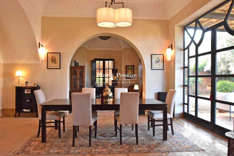 Villa de charme sur golf a vendre a Marrakech