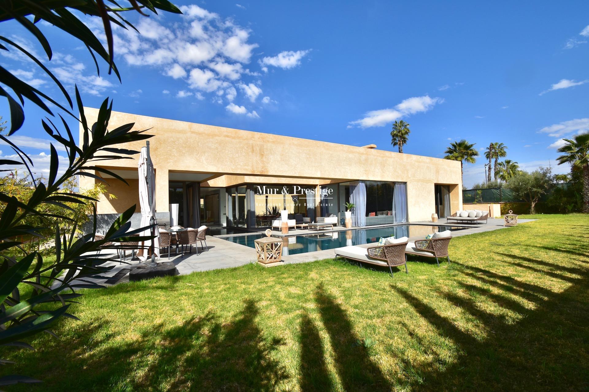 Villa de prestige en vente à Marrakech