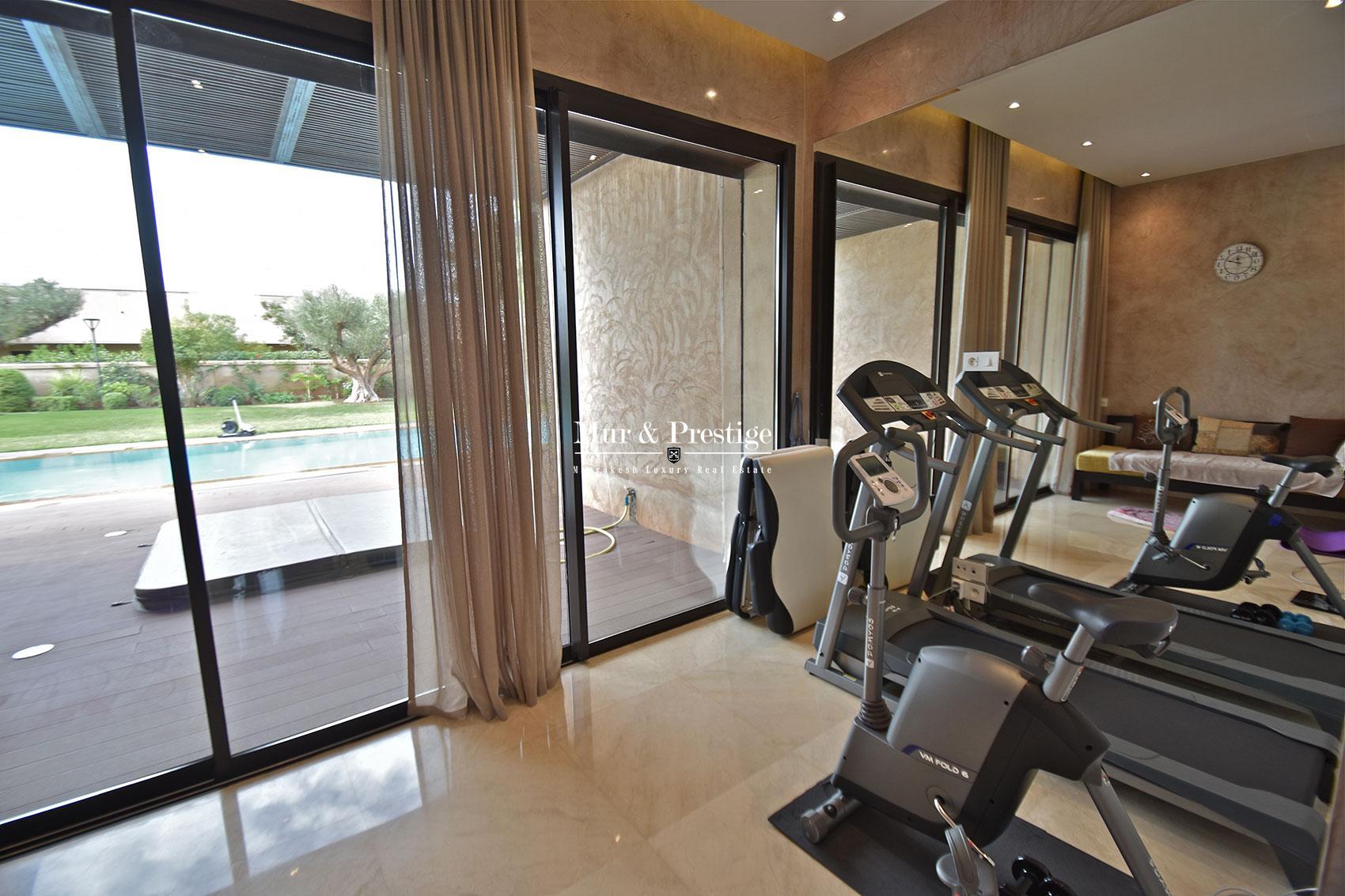 Villa de luxe moderne en vente Marrakech