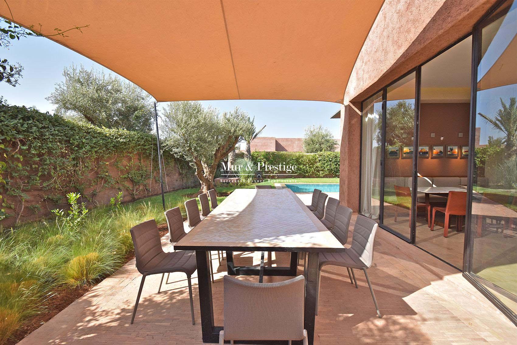 Villa d'exception a vendre Marrakech