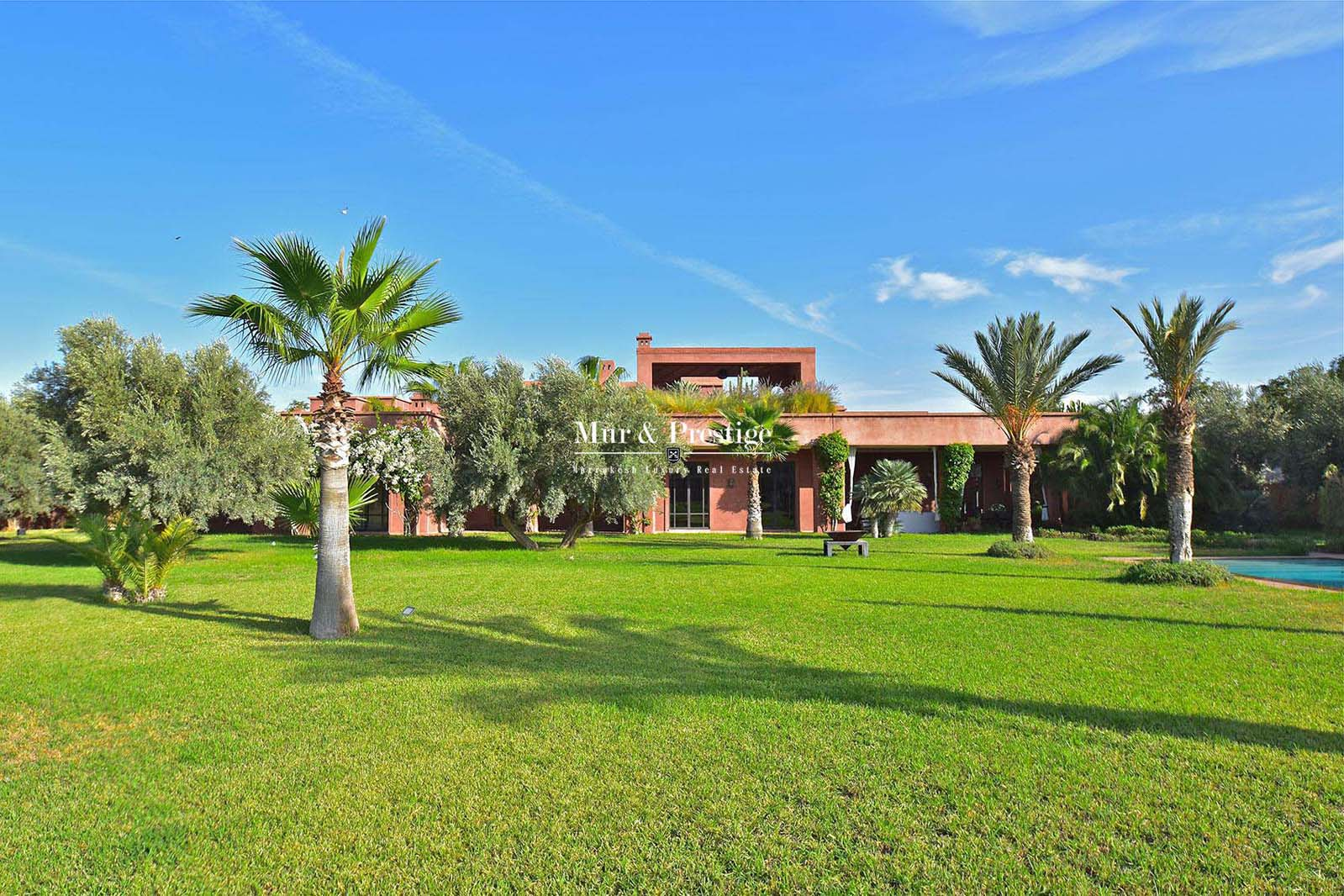 Villa d�exception en vente a Marrakech