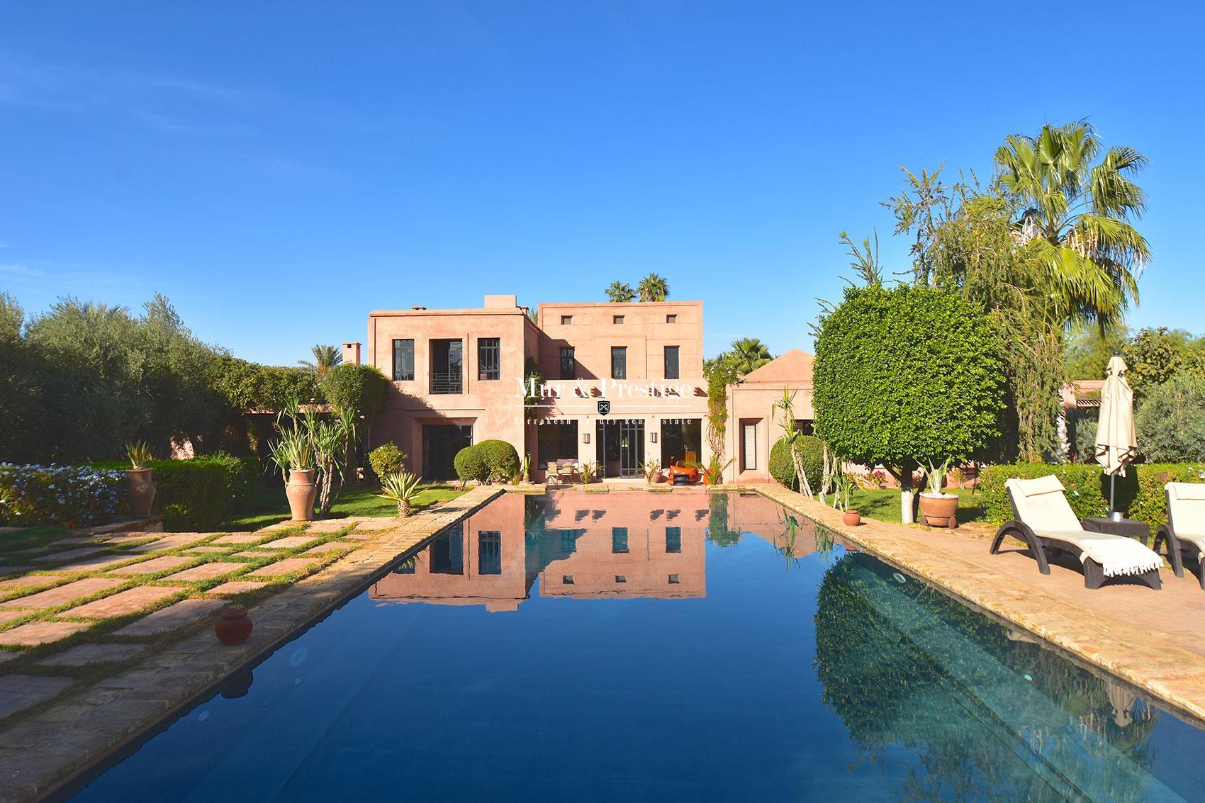 Villa en vente a Marrakech Bab Atlas