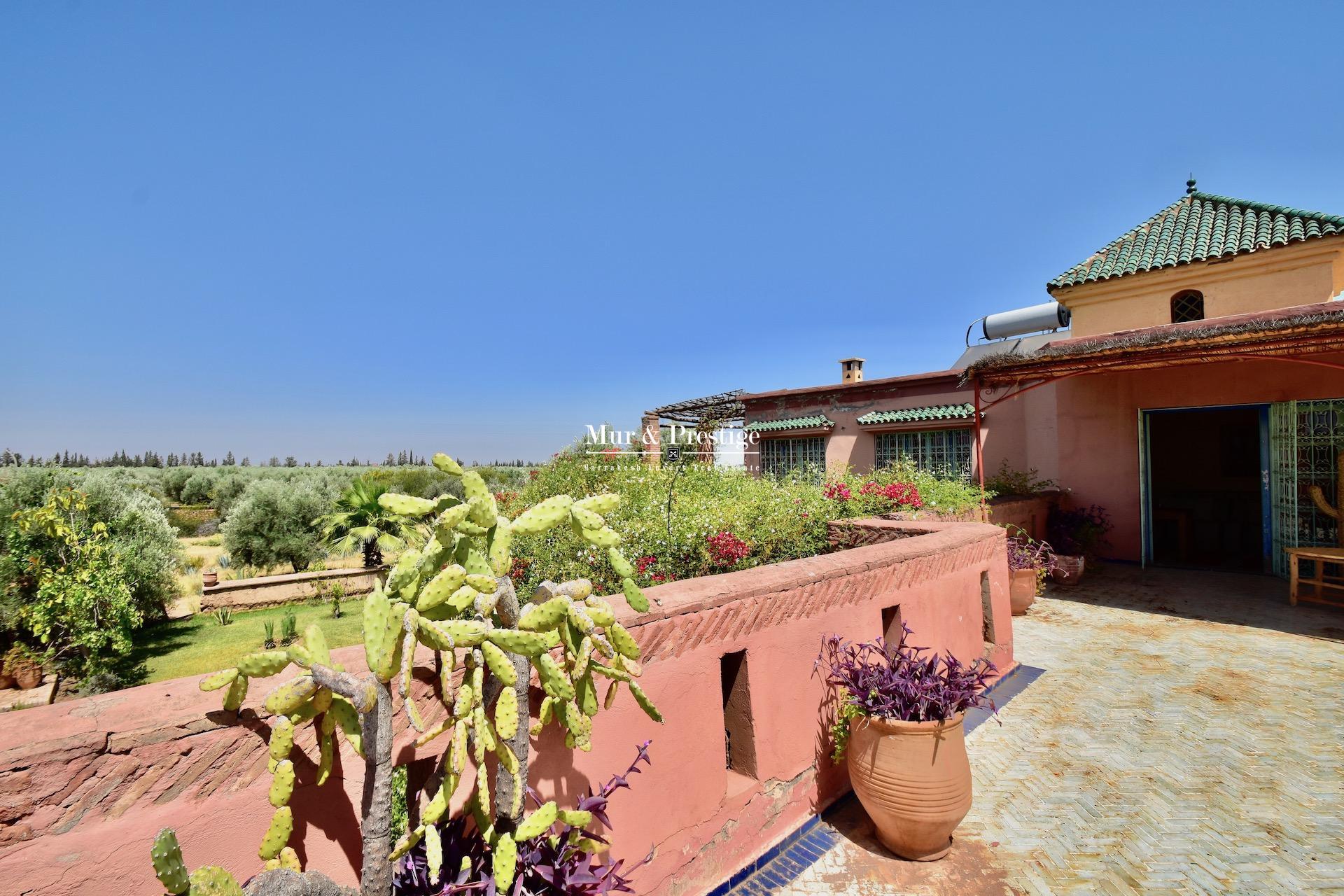 Maison coup de cœur des années 60 à vendre à Marrakech