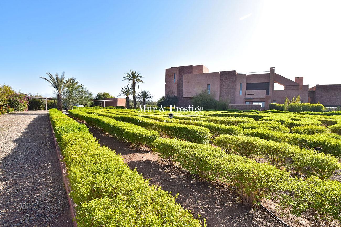 Villa en vente face a l'Atlas Marrakech