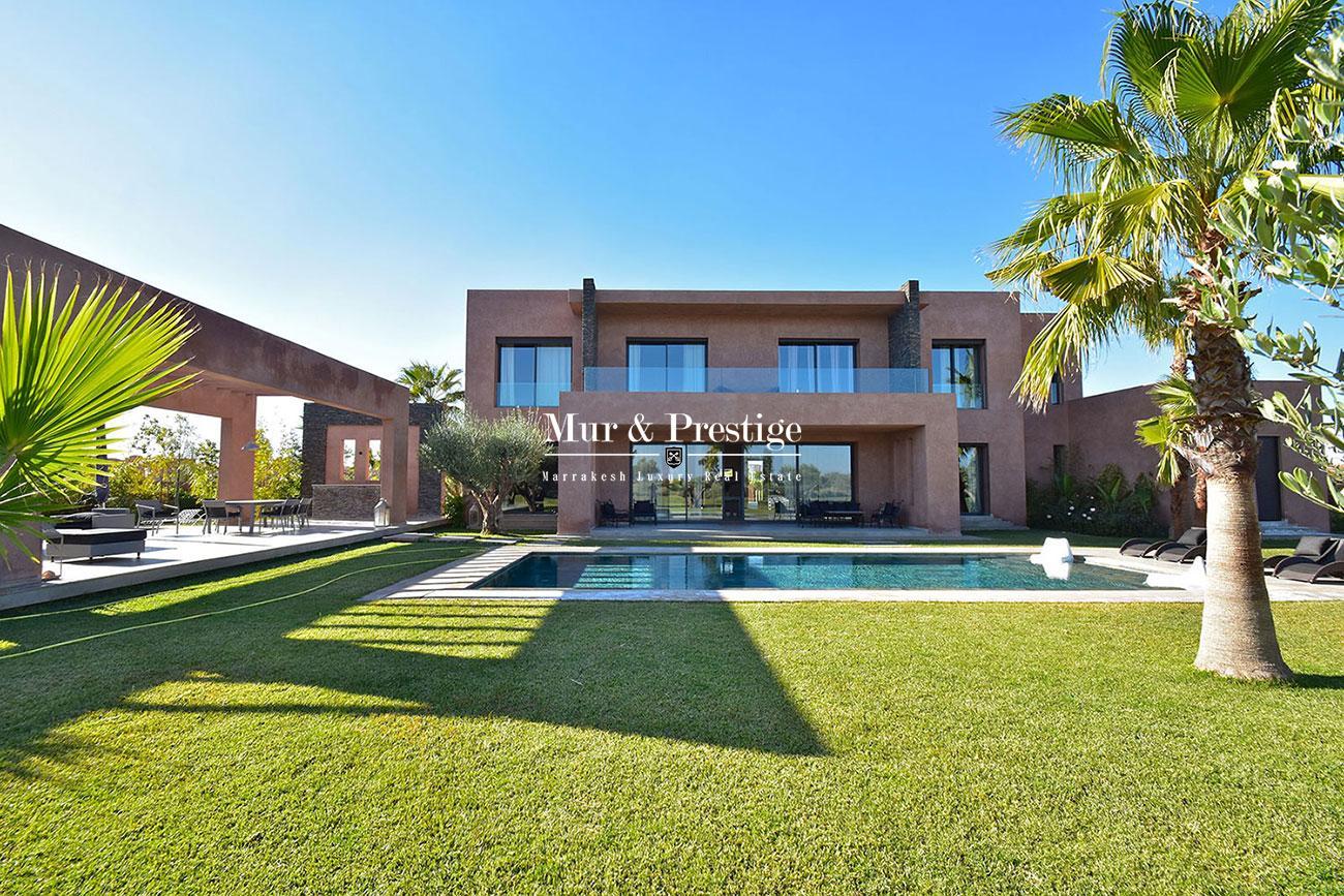 Villa en vente sur golf Amelkis Marrakech