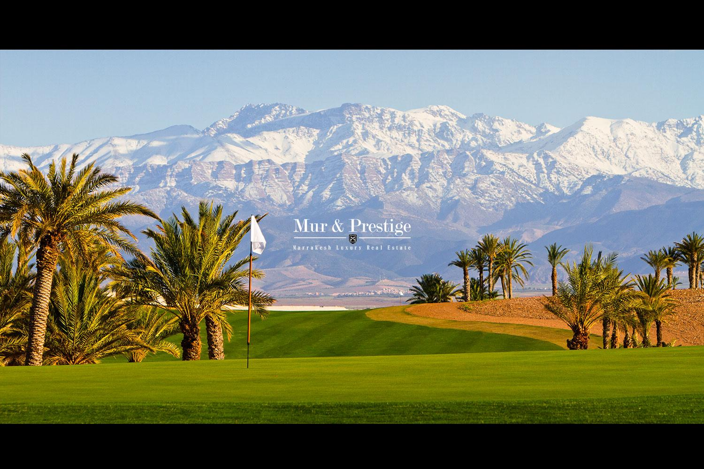 Villa en vente sur golf à Marrakech