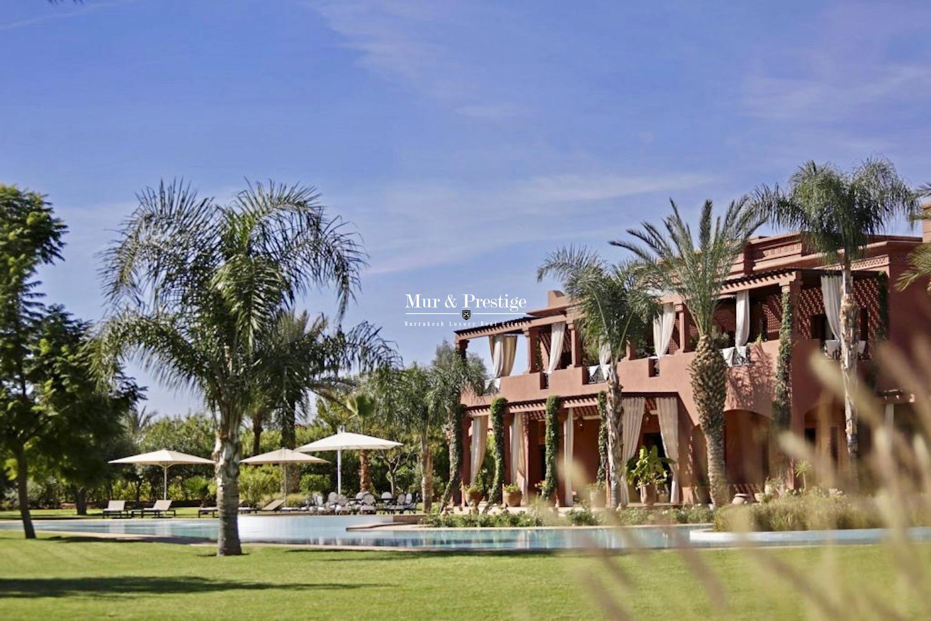 Villa à louer à Marrakech proche des golfs