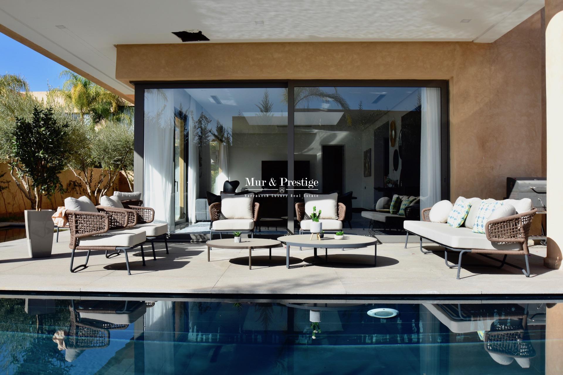 Villa de luxe à vendre à Marrakech proche des Golfs