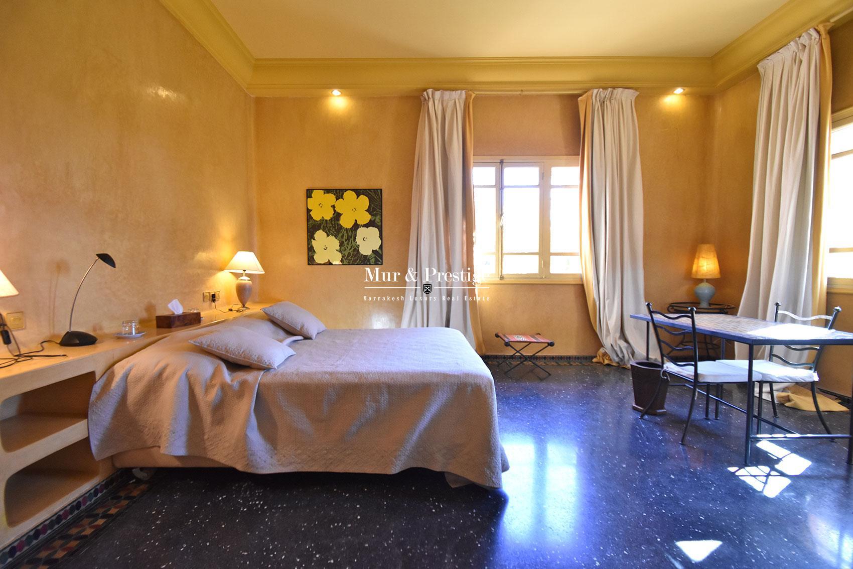 Villa marocaine a vendre dans la Palmeraie