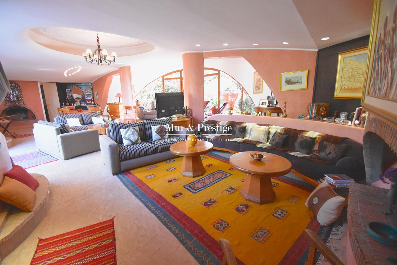 Villa marocaine avec cachet en vente à Marrakech