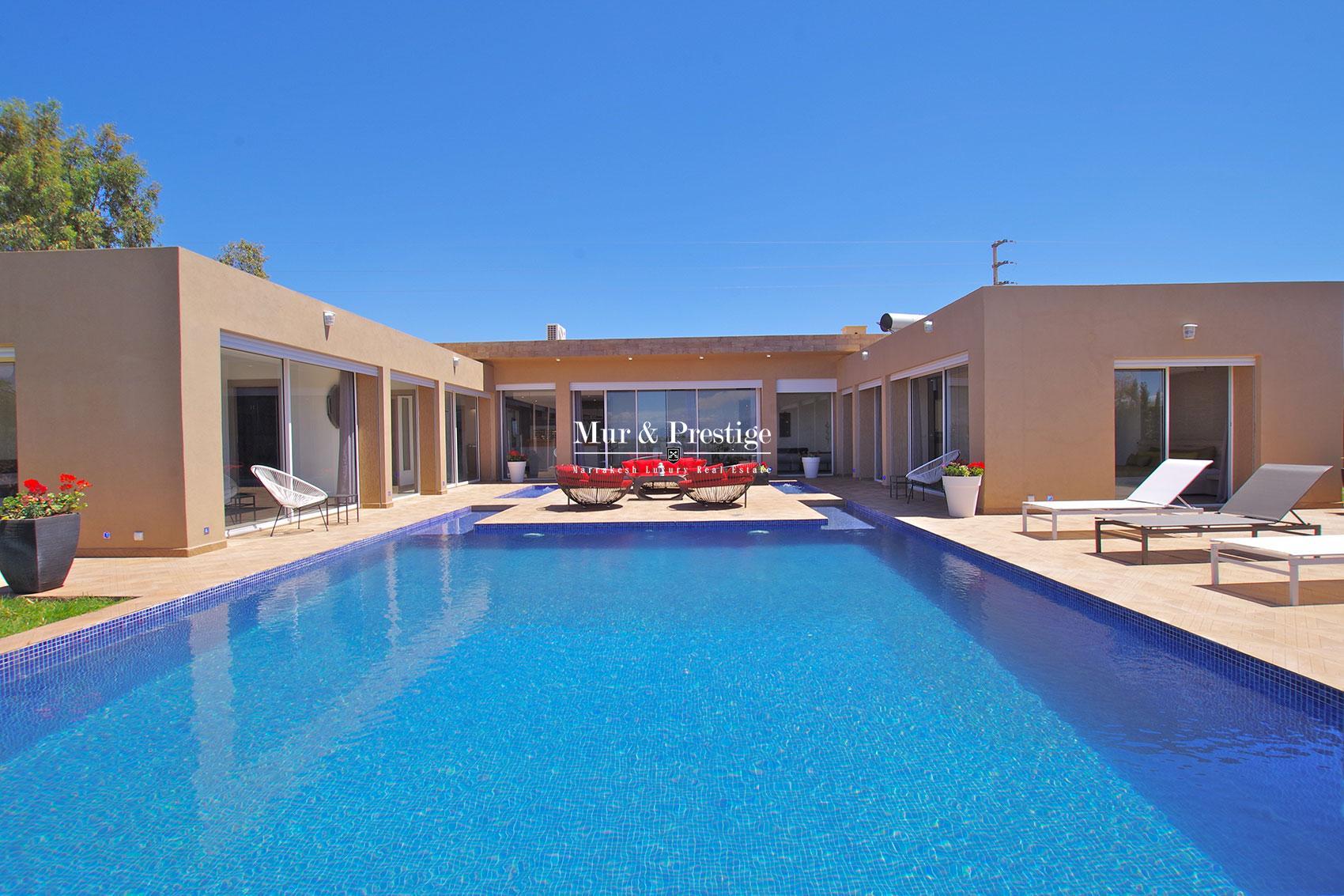 Villa moderne a vendre route d'Amizmiz