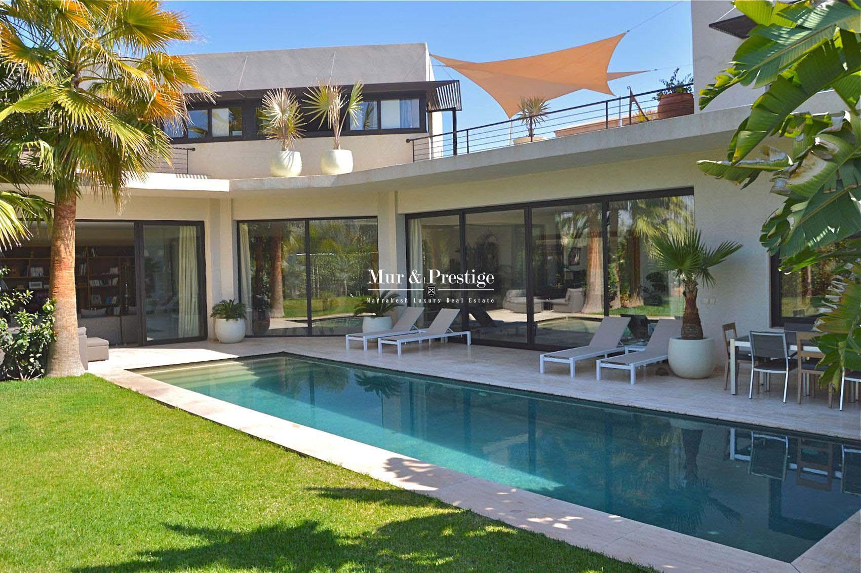Villa sur golf en vente a Marrakech