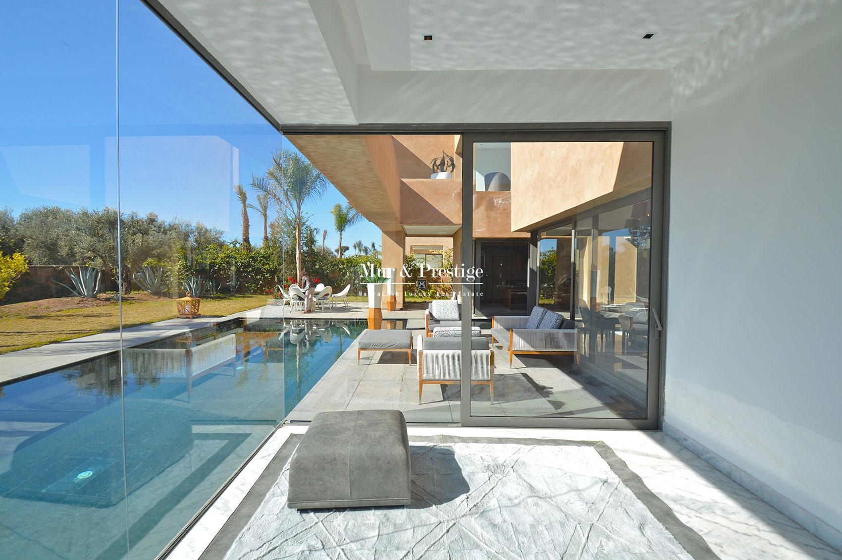 Villa ultra moderne a vendre a Marrakech