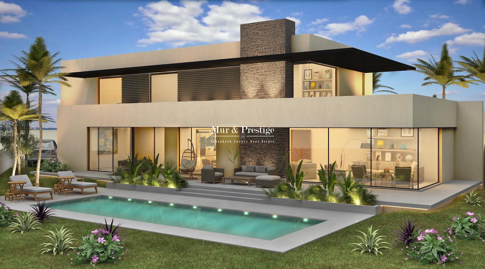 Villa à la vente à Amelkis en première ligne de golf