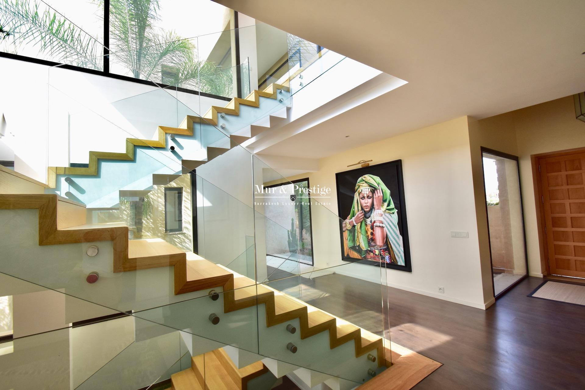 Villa contemporaine en vente sur le golf de Amelkis